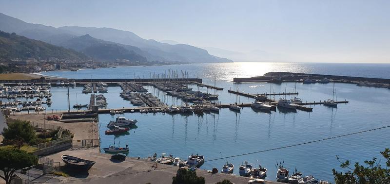 Cetraro Marina view from Hospital