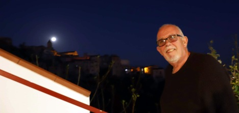 John with the rising moon :)